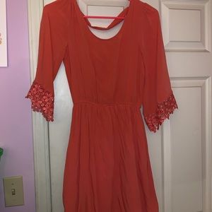 Charlotte Russe Coral Dress
